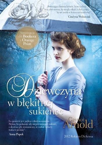 Okładka książki Dziewczyna w błękitnej sukience