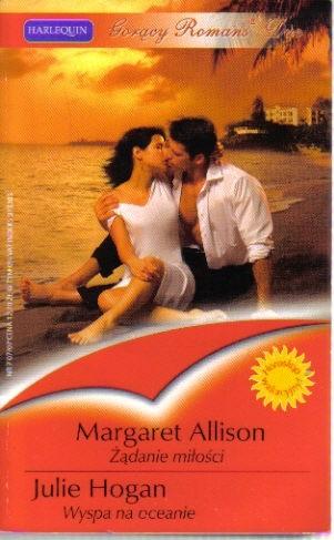 Okładka książki Żądanie miłości; Wyspa na oceanie