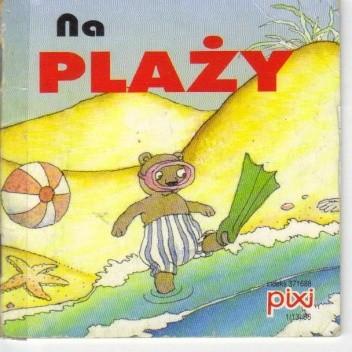 Okładka książki Na plaży