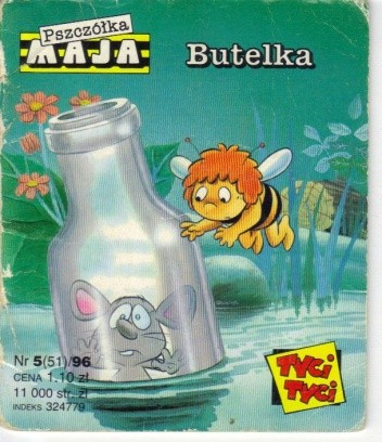 Okładka książki Butelka