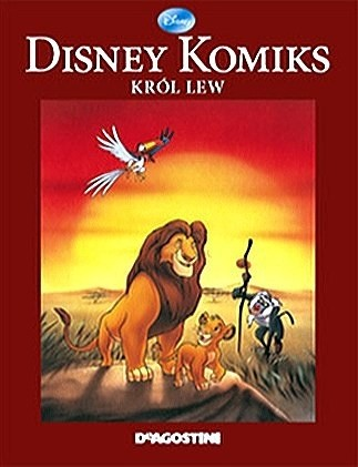 Okładka książki Król Lew