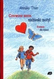 Okładka książki Czerwone serce, niebieski motyl