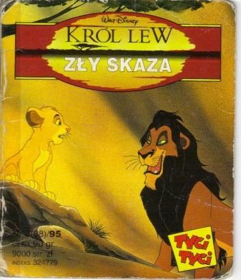 Okładka książki Zły Skaza