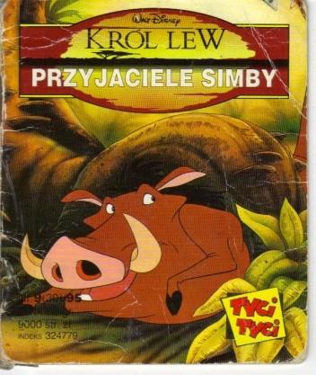 Okładka książki Przyjaciele Simby