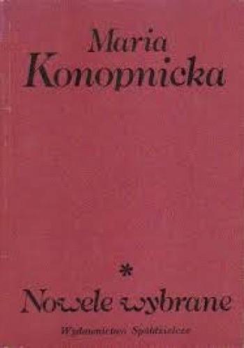 Okładka książki Nowele wybrane