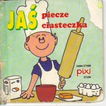 Okładka książki Jaś piecze ciasteczka