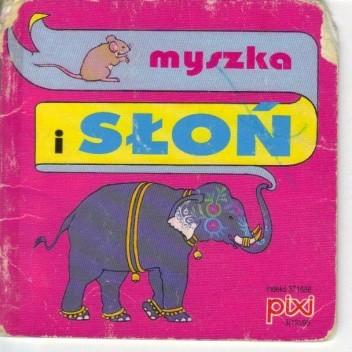 Okładka książki Myszka i słoń