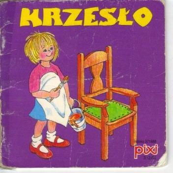 Okładka książki Krzesło