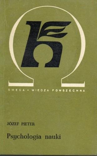 Okładka książki Psychologia nauki