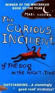 Okładka książki The curious incident of the dog in the night-time