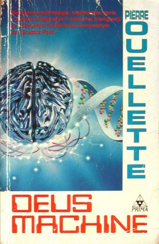 Okładka książki DEUS Machine