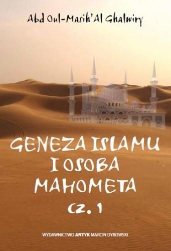 Okładka książki Geneza islamu i osoba Mahometa