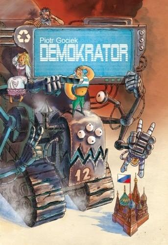 Okładka książki Demokrator