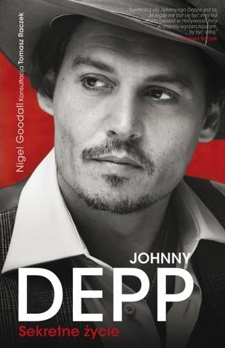 Okładka książki Johnny Depp. Sekretne życie