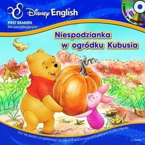 Okładka książki Niespodzianka w ogródku Kubusia. Kubuś i Przyjaciele + CD