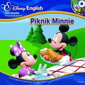 Okładka książki Piknik Minnie/Dalej, Goofy, dalej. Klub Przyjaciół Myszki Miki + CD
