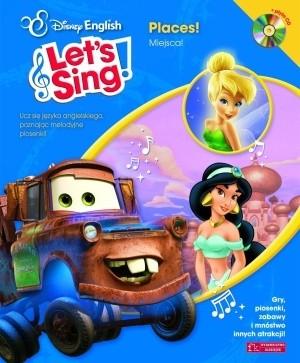 Okładka książki Let's Sing! Places! + CD
