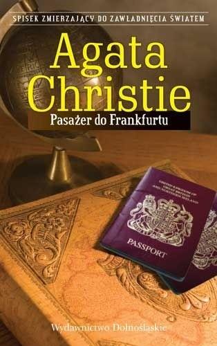 Okładka książki Pasażer do Frankfurtu