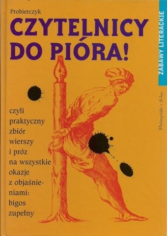 Okładka książki Czytelnicy do pióra!