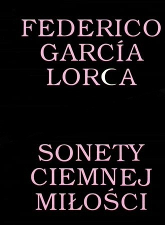Okładka książki Sonety ciemnej miłości