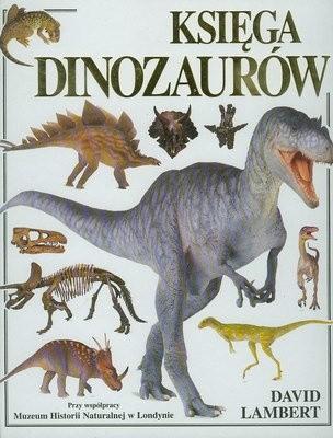 Okładka książki Księga dinozaurów