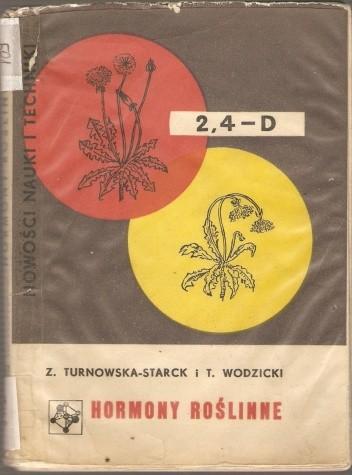 Okładka książki Hormony roślinne