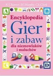 Okładka książki Encyklopedia gier i zabaw dla niemowlaków i maluchów