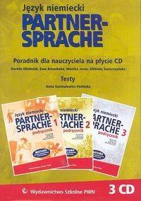 Okładka książki Partnersprache 1,2,3. Poradnik dla nauczyciela i testy na płycie CD