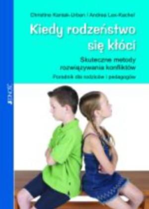 Okładka książki Kiedy rodzeństwo się kłóci