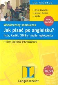 Okładka książki Jak pisać po angielsku? Współczesny samouczek
