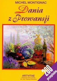 Okładka książki Dania z Prowansji