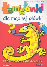 Okładka książki łamigłówki dla mądrej główki cz. 2
