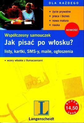 Okładka książki Jak pisać po włosku?