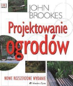 Okładka książki Projektowanie ogrodów