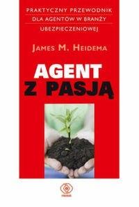 Okładka książki Agent z pasją
