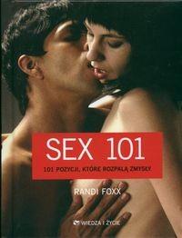 Okładka książki Sex 101. 101 pozycji, ktore rozpalają zmysły