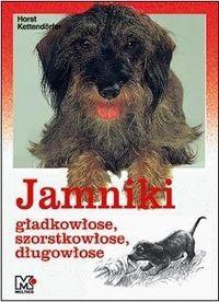Okładka książki Jamniki gładkowłose szorstkowłose, długowłose