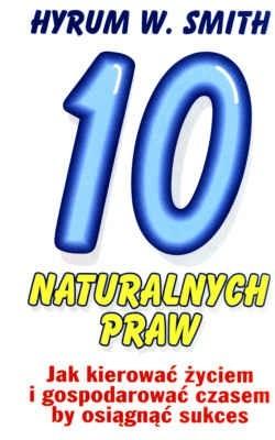 Okładka książki 10 naturalnych praw