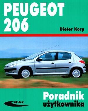 Okładka książki Peugeot 206 Poradnik użytkownika