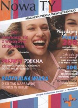 Okładka książki Nowa Ty - magazyn piękna wewnętrznego