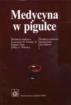 Okładka książki Medycyna w pigułce.......