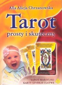 Okładka książki Tarot prosty i skuteczny+karty