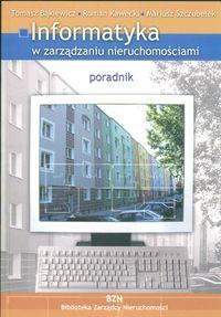 Okładka książki Informatyka w zarządzaniu nieruchomościami