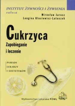 Okładka książki Cukrzyca zapobieganie i leczenie