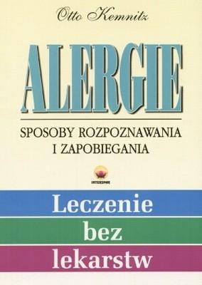 Okładka książki Alergie. Sposoby rozpoznania i zapobiegania