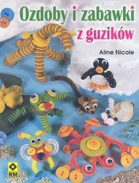 Okładka książki Ozdoby i zabawki z guzików