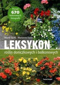 Okładka książki Leksykon roślin doniczkowych i balkonowych