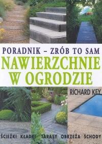 Okładka książki Nawierzchnie w ogrodzie