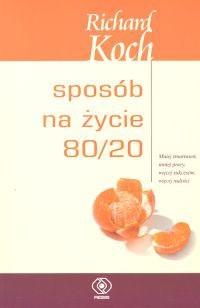 Okładka książki Sposób na życie 80/20