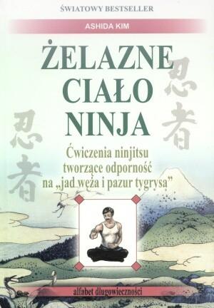 Okładka książki Żelazne ciało Ninja